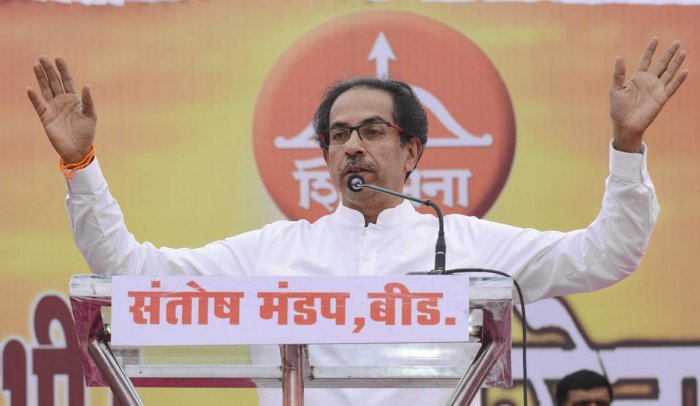 Hitting out at BJP chief Amit Shah for his remarks that the saffron party will thrash former allies if a pre-poll alliance did not materialise ahead of the Lok Sabha polls, Shiv Sena chief Uddhav Thackeray on Sunday said one who will trounce the Sena was