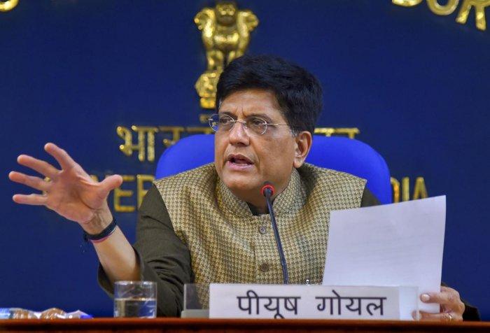 If Goyal visits Chennai on Sunday, he will meet Chief Minister Edappadi K Palaniswami to kick-start the talks