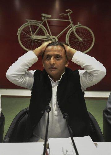Samajwadi Party President Akhilesh Yadav. PTI File photo
