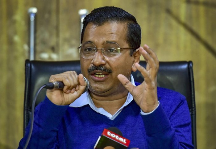 Kejriwal, in a tweet in Hindi, said Modi wants the whole country try to become 'chowkidar' (watchman). PTI File Photo
