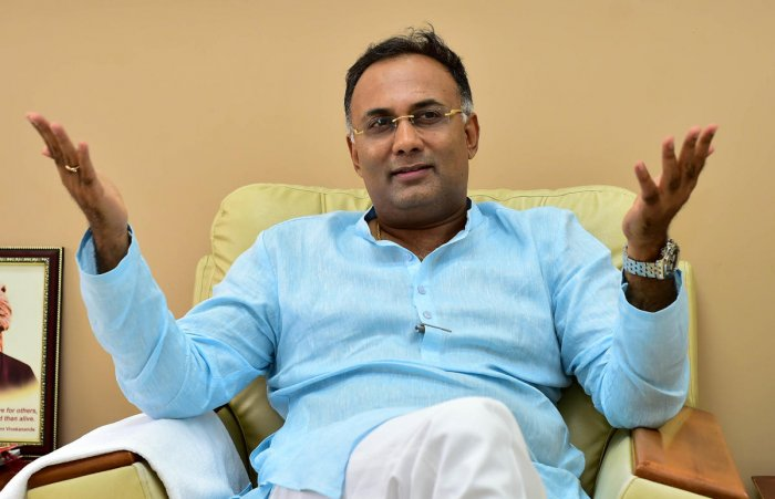 State Congress president Dinesh Gundu Rao. DH file photo