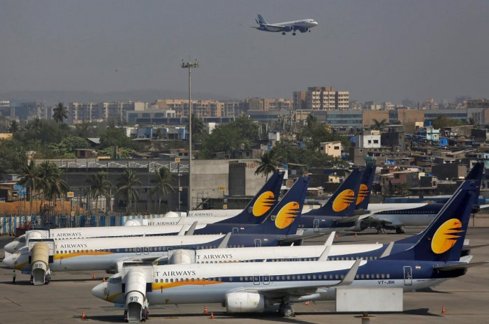 Jet Airways aircrafts. Reuters file photo