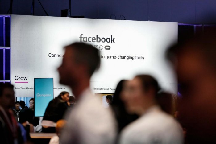 People attend the Facebook F8 Conference at McEnery Convention Center in San Jose, California. AFP photo