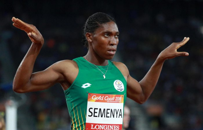 Semenya took potential steps to reinvent her career last week when she won the 5,000-metres at the South African Athletics Championships in a modest time of 16:05.97, an event that would allow her to compete outside of the IAAF regulations. Reuters photo