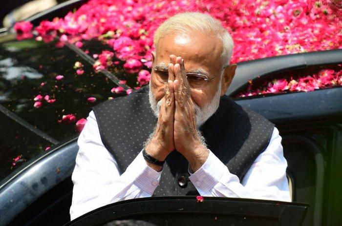 Prime Minister Narendra Modi. AFP file photoa