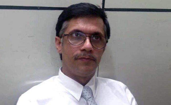 Congress spokesman Pawan Khera. DH file photo