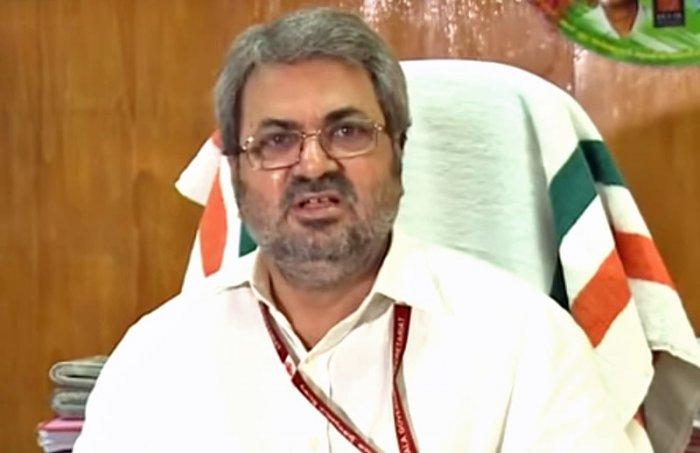 Kerala chief electoral officer Teeka Ram Meena