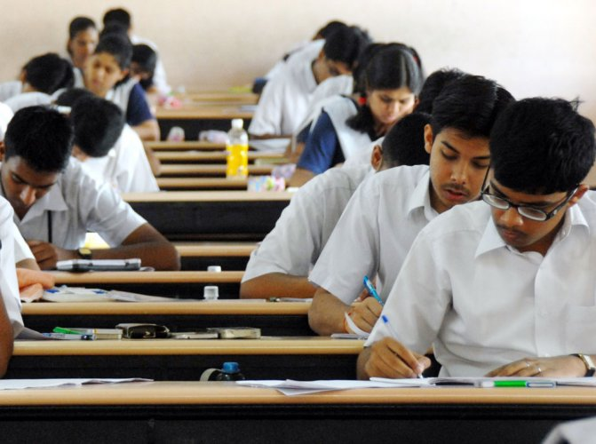 The students and parent community have erupted in protest on the social media platform against the CBSE. DH file photo
