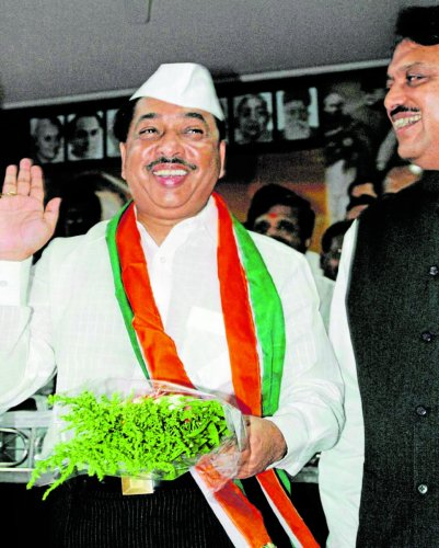 Soon after the BJP and Sena decided on a 25:23 seats-sharing formula, former chief minister Narayan Rane, who is the founder of Maharashtra Swabhiman Paksha and a BJP-sponsored Rajya Sabha MP, stayed away and decided to field candidates in a dozen seats a