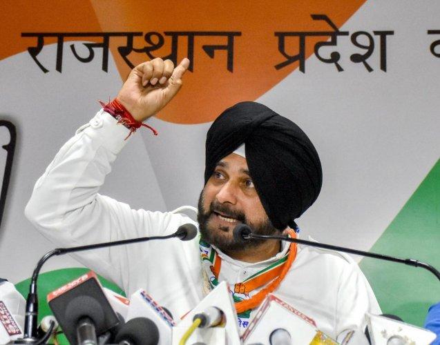 Navjot Singh Sidhu (PTI File Photo)