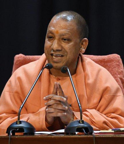 Uttar Pradesh Chief Minister Yogi Adityanth. PTI