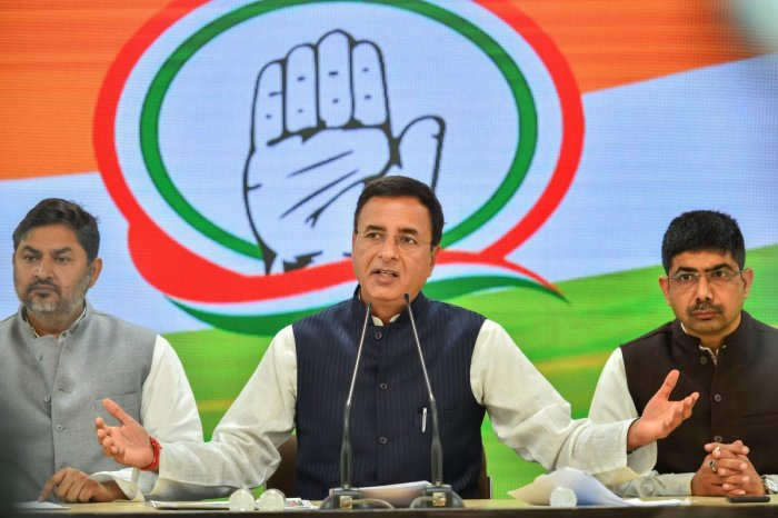 """Nobody has hurt India's global reputation & credibility more than Modi government. 108 global economists and social scientists are concerned and you should be too!"" Congress' chief spokesperson Randeep Surjewala said in a tweet. (PTI File Photo)"