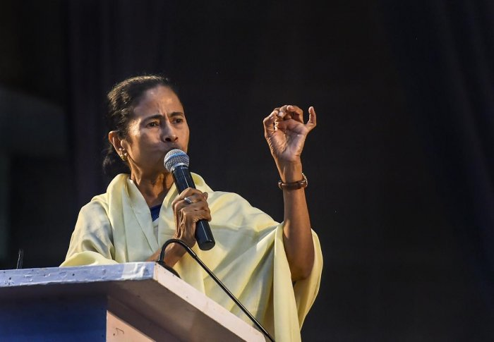 Mamata also sought the central government's version about the theft and asked who was the 'chhuppa rustam' (hidden person) behind this act. (PTI File Photo)