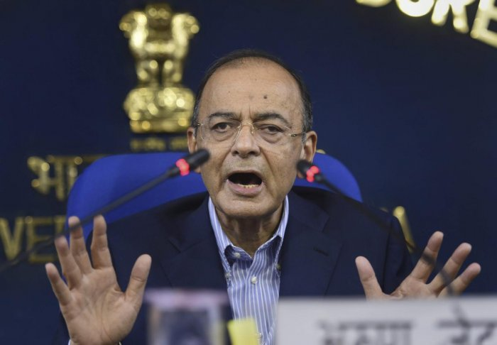 """The original mistake, both on Kashmir and China, was committed by the same person,"" said Jaitley while quoting a letter written by Nehru to Chief Ministers on August 2, 1955. (PTI File Photo)"