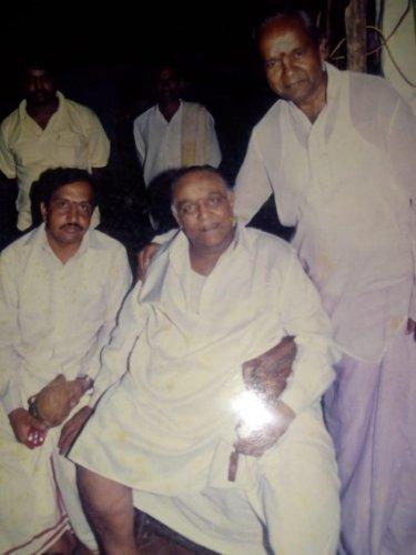 Master Hirannnaiah at Sakharayapatna in Chikkamagaluru.