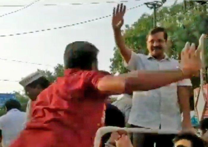 A screenshot of video