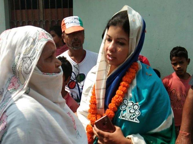 TMC candidate Mausam Noor. DH photo