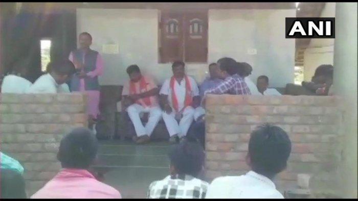 BJP MLA Ramesh Katara. (Image courtesy ANI/Twitter)