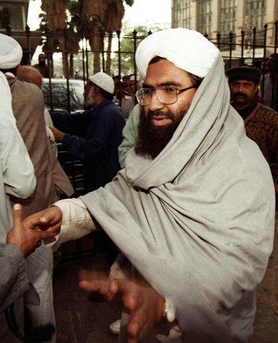 Masood Azhar, chief of the Jaish-e-Mohammad (JeM). AFP