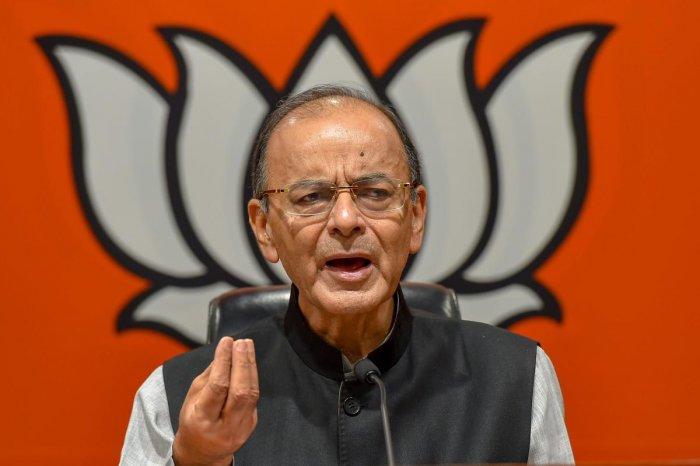 "In a blog post, Jaitley said that over the last several months, India was ""exhausted"" with the talk of a 'Mahagathbandhan'. (PTI Photo)"