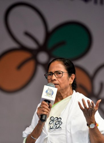 West Bengal Chief Minister Mamata Banerjee. AFP File photo