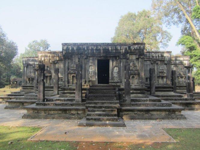Priceless past Jain Basadi, Gerusoppa, Uttara Kannada.