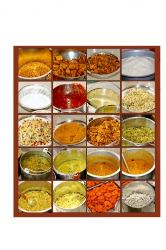 Traditional appetisers Traditional Udupi cuisine delicacies from fries, rice, chutneys to sweet and savouries.