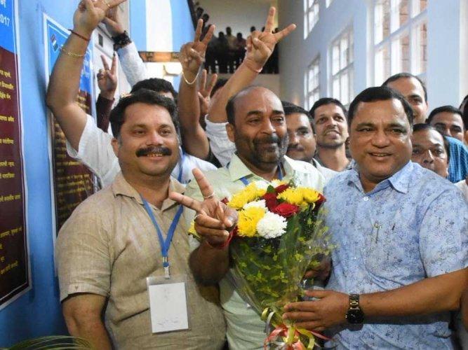 BJP president Vinay Tendulkar. File photo