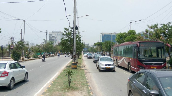 The BBMP's Mahadevapura zone was the bedrock of the TDR scam. The file picture shows the outer ring road in Mahadevapura.