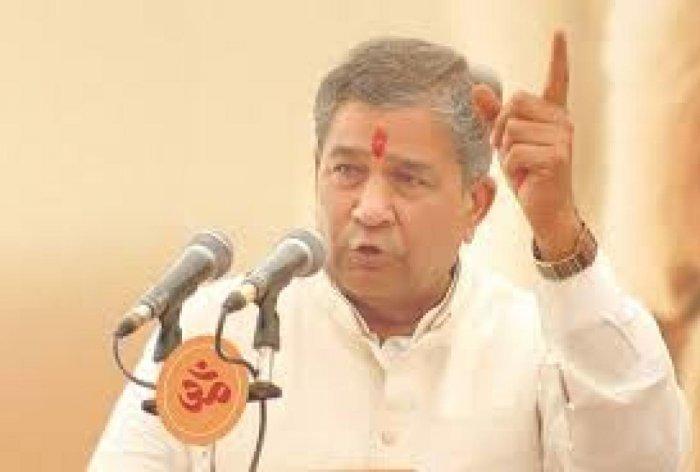 Ghanshyam Tiwari. File photo
