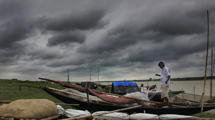 Armed with data from different institutes of the Ministry of Earth Sciences (MoES), the meteorologists deliberated on how low pressure could pan out to be. PTI File photo