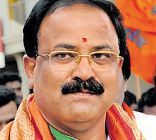Mahadevapura constituency MLA Aravind Limbavali.