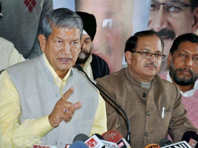 Congress in-charge of Assam, Harish Rawat. PTI file photo