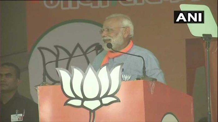 Prime Minister Narendra Modi. (Image courtesy ANI/Twitter)