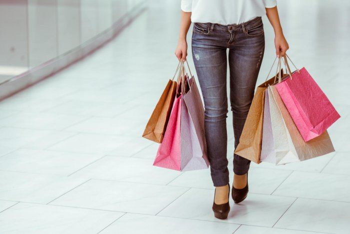 Researchers from Fairfield University in the US investigated the impact of mobile phone use on in-store shopping behaviour. File photo