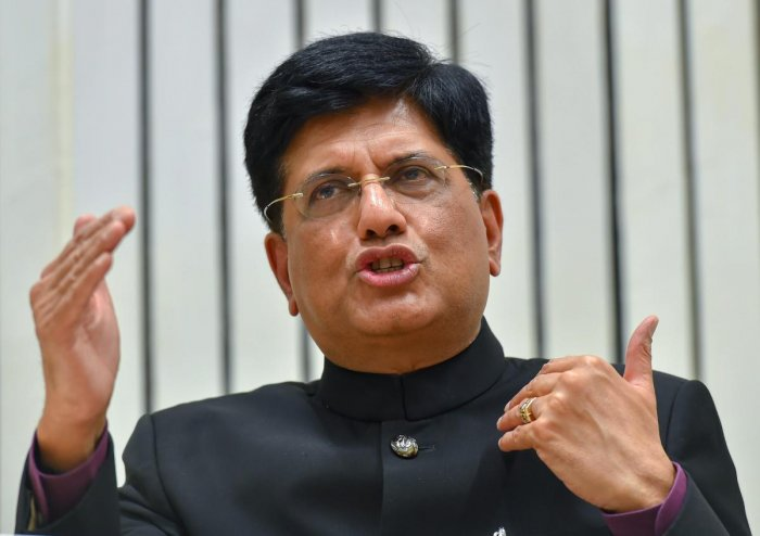 "Goyal said he feels it will not be possible to implement this scheme as there is no data for income and salary levels and the Congress promise will ""burst like a balloon"". (PTI File Photo)"