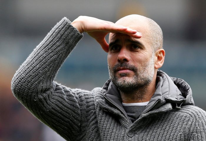 Pep Guardiola. Reuters