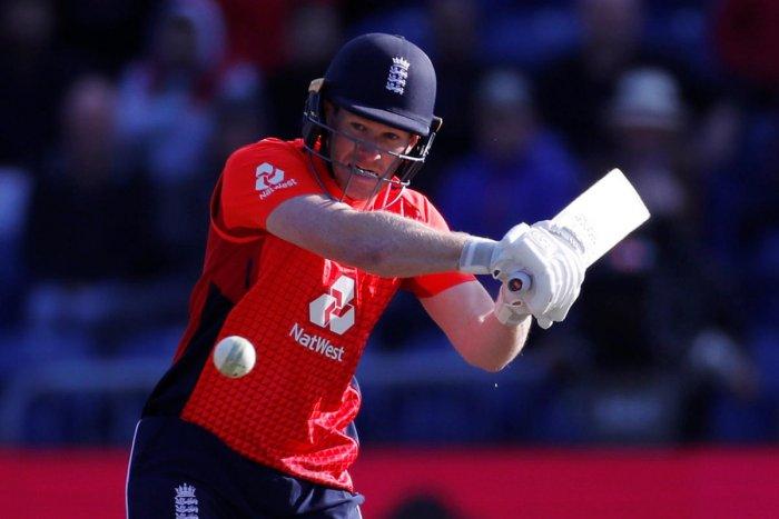 HANDY KNOCK: England skipper Eoin Morgan en route his match-winning unbeaten 57 against Pakistan in the one-off T20I against Pakistan. Reuters