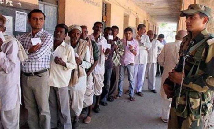 Repolling in progress in Andhra Pradesh