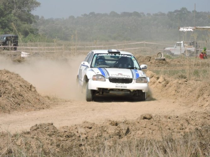 Den Thimmaiah emerges as fastest driver in Autocross