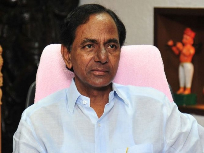 Telangana Chief Minister KChandrashekhar Rao