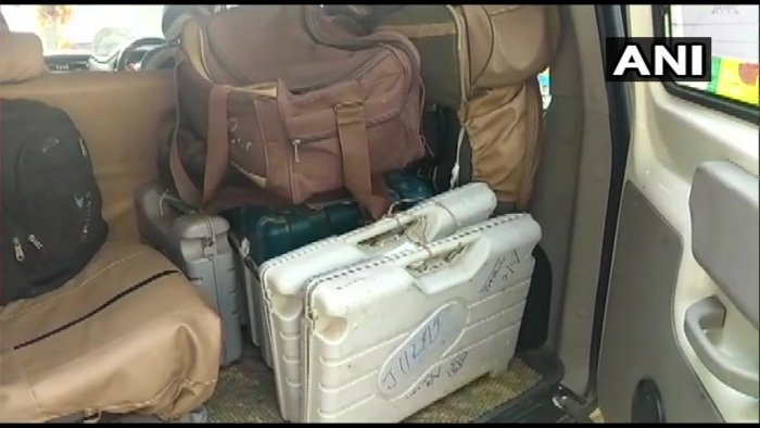 The Muzaffarpur DM said that the Sector Officer was given some reserved machines so that it could be replaced with faulty ones. Image courtesy: ANI/Twitter