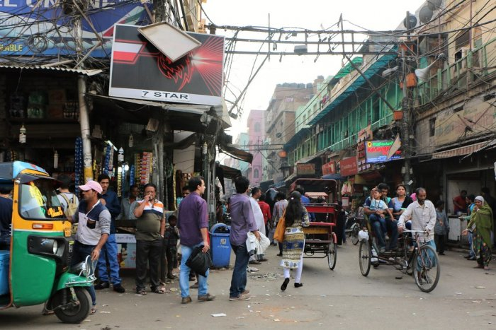 In constituencies such as Chandni Chowk, Muslim voters comprise 20% of the total electorate. File photo