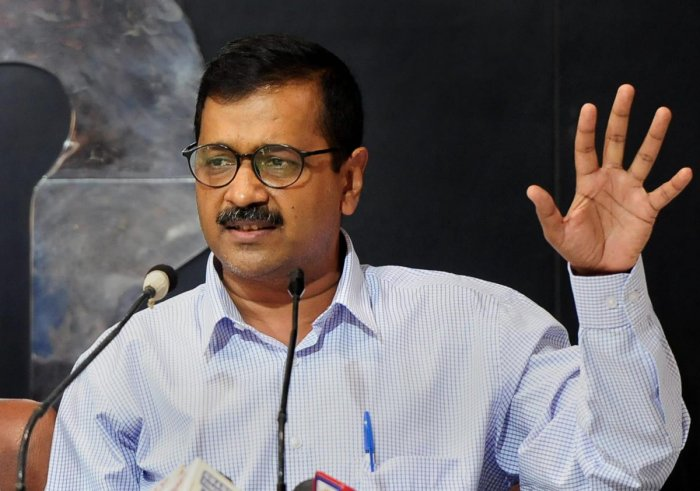 Delhi Chief Minister Arvind Kejriwal. PTI File photo