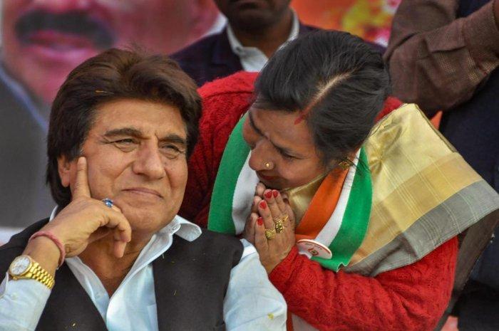 Uttar Pradesh Congress Committee President Raj Babbar. (PTI File Photo)