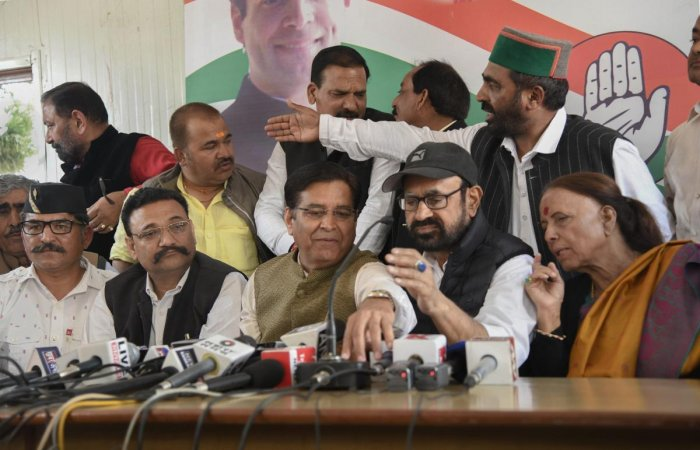 Congress sources here said the names of candidates will have to be announced before Monday which is the last date for filing nominations. (PTI File Photo)