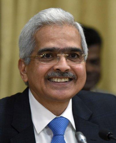 Shaktikanta Das, Reserve Bank of India (RBI) Governor. REUTERS