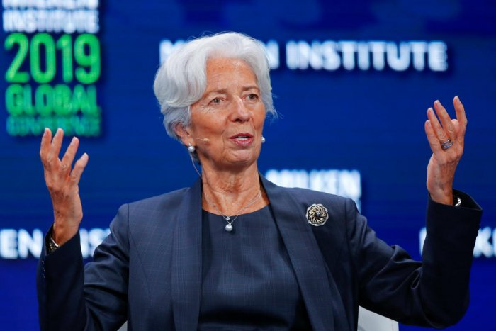 IMF chief Christine Lagarde (Reuters)