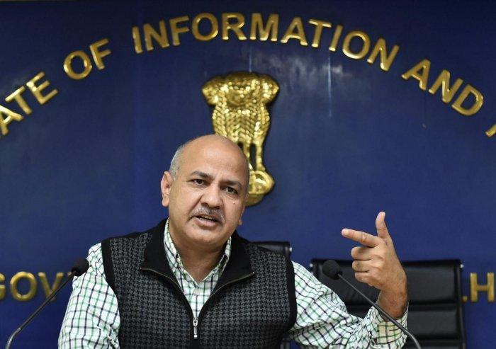 Delhi Deputy Chief Minister Manish Sisodia. PTI file photo