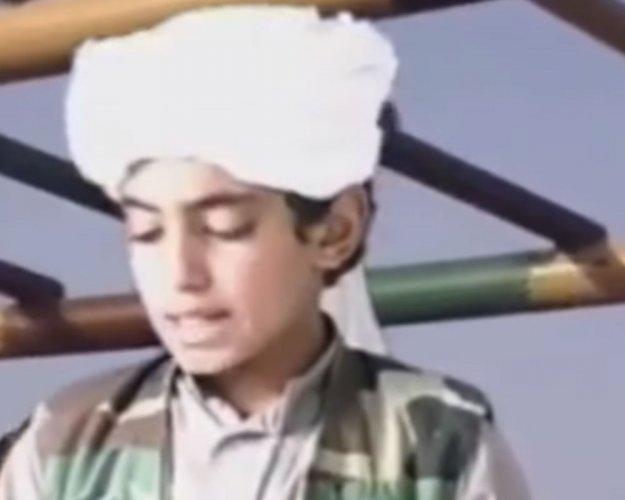 Hamza bin Laden. File photo